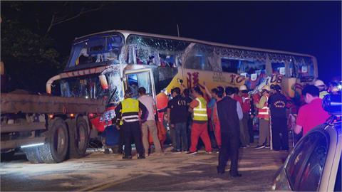 遊覽車撞山釀6死 騰龍車輛全召回駕駛再教育