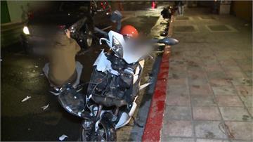 又是酒駕! 男子逆向撞兩機車 2騎士受傷送醫