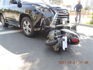 快新聞/無號誌路口未減速 林口19歲女騎士遭撞飛昏迷搶救中