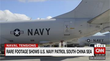緊張升溫!美軍空巡南海 遭共機驅逐嗆離開