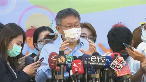 快新聞/陳時中談防疫「口水很困擾」 柯文哲反擊:大家腎上腺素增加很焦慮