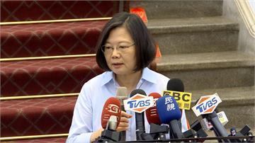 台灣媒體參加統戰峰會 蔡英文:譴責中國干擾新聞自由