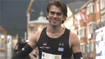 狂! 奧地利黃金屋頂競技挑戰賽跳遠 撐竿跳世界級好手競技