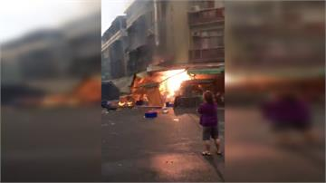 台中炸物工廠氣爆  3工人20~51%灼傷