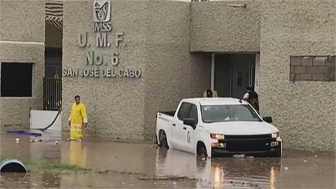 墨西哥天災不斷 前豪雨又地震 後颶風又侵襲