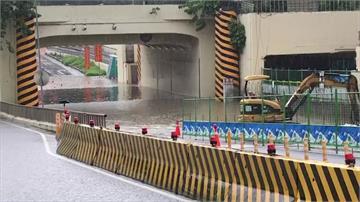 台南地下道封閉SOP 淹水10公分就啟動