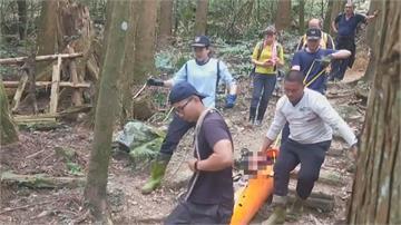 登山意外連2起 1人遭落石砸傷1人昏倒無意識