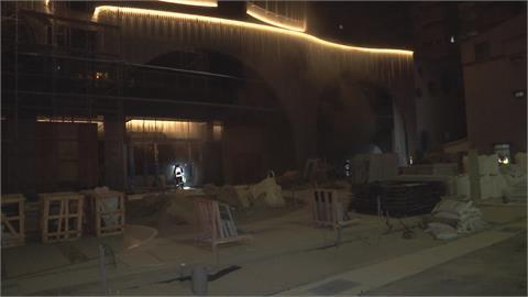 台中一建案工地起火 幸無人員傷亡