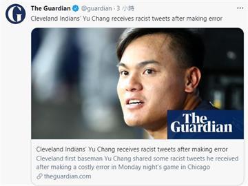 MLB/張育成反擊種族歧視 延燒美國各大媒體