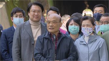 國安新人事...   蘇貞昌指監院兩次審查 都證明邱太三清白
