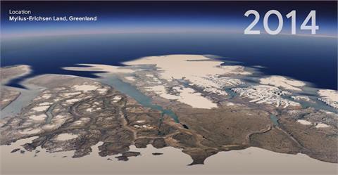 Google地球近年最大更新 縮時攝影見證37年演變