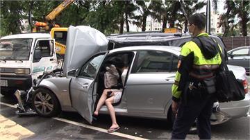 剛下夜班就開喝 白晝酒駕撞4車釀2傷