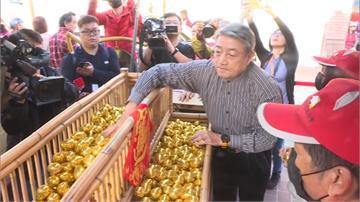 紫南宮初一發錢母 湧6萬人排隊綿延7公里