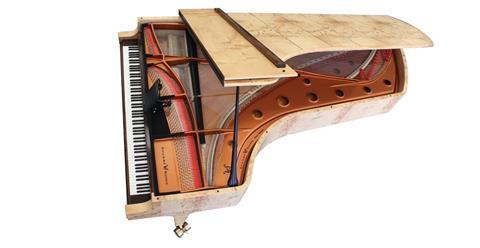 108鍵9個八度 澳洲Wayne Stuart製琴廠的鋼琴「大作」!