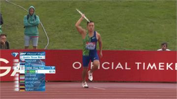鑽石聯賽等級僅次奧運、世錦賽!鄭兆村奪金創台灣運動員紀錄
