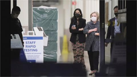 柯林頓15號續住院 希拉蕊探視拜登致電