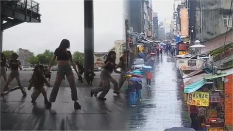 6.5強震撼全台!女學生熱舞到一半驚慌逃竄 街上遊客全變木頭人
