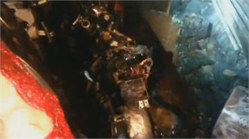 宜蘭礁溪暗夜公寓火警 14住戶逃出幸無人傷亡