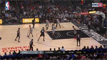 NBA/雷納德戰老東家馬刺!得最高38分快艇獲勝