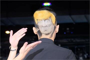金正恩與川普碰面了?髮雕師頭頂搞創意