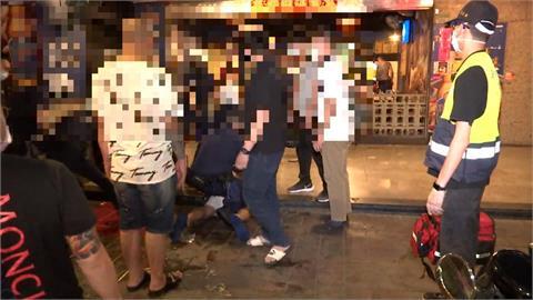 「我有帶槍!」熱炒店用餐爆衝突 警逮6人起獲1槍