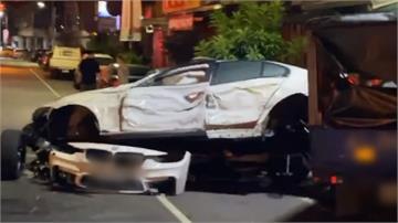 海軍酒駕拒捕連闖4紅燈 高速撞擊計程車