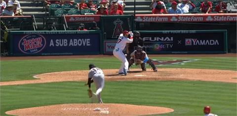 MLB/大谷翔平炸裂!本季23轟出爐創生涯單季新高