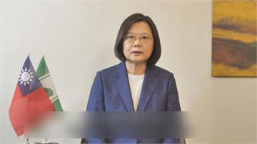 「台灣模式」對抗假訊息!蔡英文:台灣經驗是民主 面對威權最佳示範