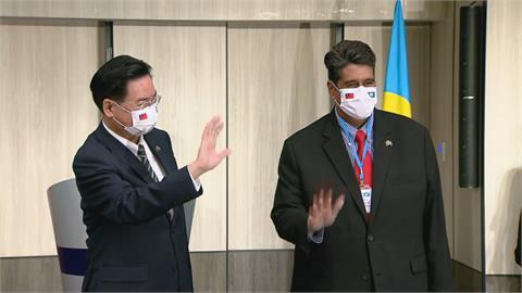 向國際發聲! 帛琉總統惠恕仁:台帛禍福與共
