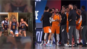 NBA/球員家人介紹出場激勵士氣  唯一不敗太陽奪七連勝