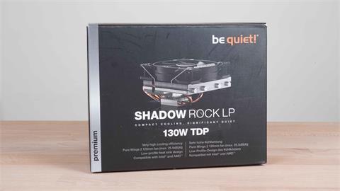 3C/小機殼裡有一個安靜的大散熱器!be quiet! Shadow Rock LP