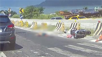 婦人遭曳引車輾斃 肇逃駕駛被抓時在換輪胎
