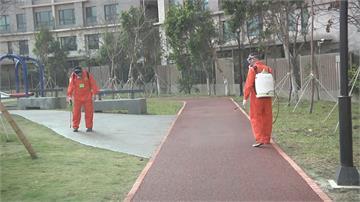 防疫動起來! 竹市、基隆公園、火車站大消毒
