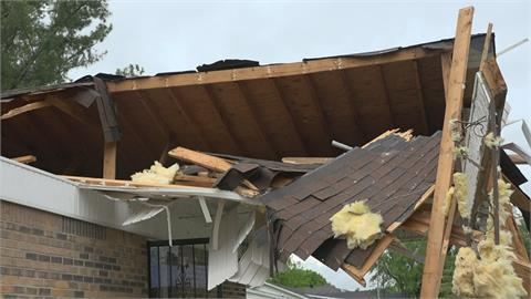 23起龍捲風狂掃美東南 至少1死近2萬人沒電