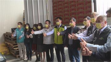 僑胞訂購逾百噸鳳梨 陳吉仲嘉義了解鳳梨產銷