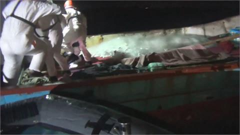 中國漁船撈過界!5漁民闖金門偷捕黃魚被逮