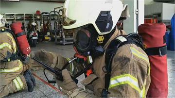 南市首創消防員普測「訓練應變能力」救人別忘自救!中隊長以下全須受測