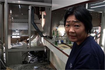 酒駕三連撞 擦撞貨車撞消防栓再衝民宅