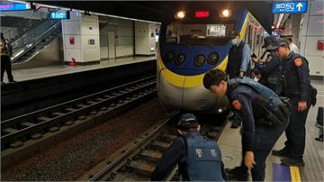 松山車站驚傳落軌意外 1男一度受困車底