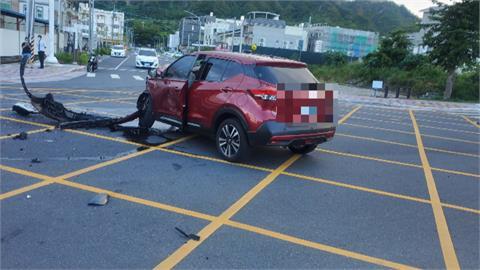 沒有紅綠燈釀禍! 路口沒減速對撞「駕駛卡車內」