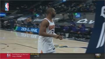 太陽全隊射進17顆三分球 戰績並列NBA第一