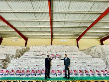 快新聞/台灣馳援560噸白米盼減輕飢荒 索馬利蘭推文致謝