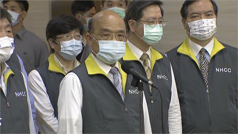 防疫升級第二警戒! 蘇貞昌呼籲國人「該收心了」