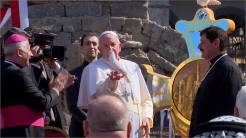 「和平力量大於戰爭」 教宗訪前IS根據地傳播愛