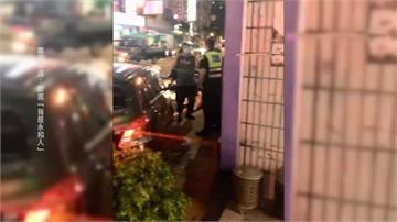 嫌犯開贓車拒攔查 警追捕沿路開7槍逮人