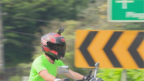 機車騎士注意! 安全帽加裝行車紀錄器 規格不符恐吃罰單