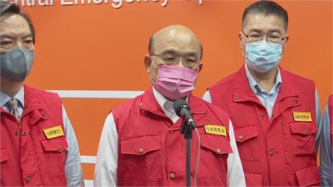 快新聞/國台辦欲捐台灣中國製疫苗 蘇貞昌:不清楚其安全性、有效性