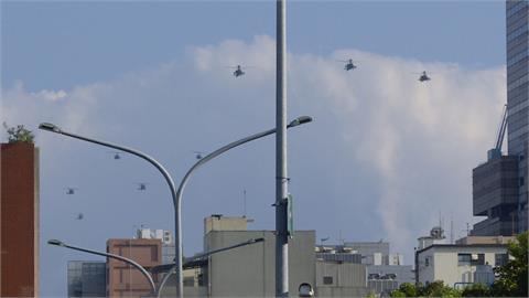 府前戰機預演三天共123架次 蔡總統:請大家不用緊張