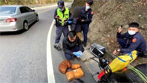 染毒移工山老鼠 盜木拒捕衝撞警車