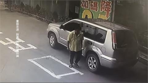 開車撞進加油站還撞壞機車  酒駕心虛落跑? 員工PO網協尋